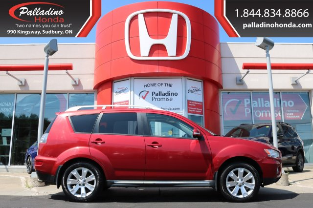 Pre-Owned 2010 Mitsubishi Outlander GT-SELF CERTIFY