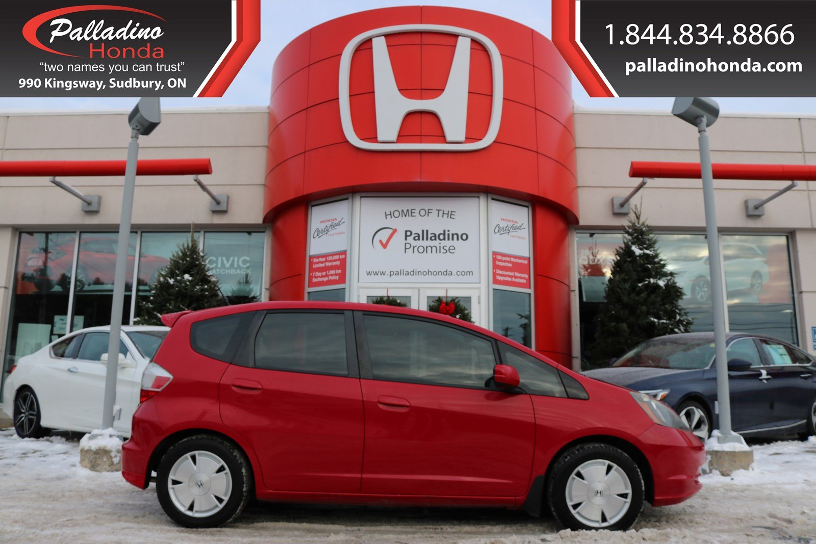 Pre-Owned 2010 Honda Fit LX - CERTIFIED - NEW FRONT BRAKES - EXTREMELY LOW