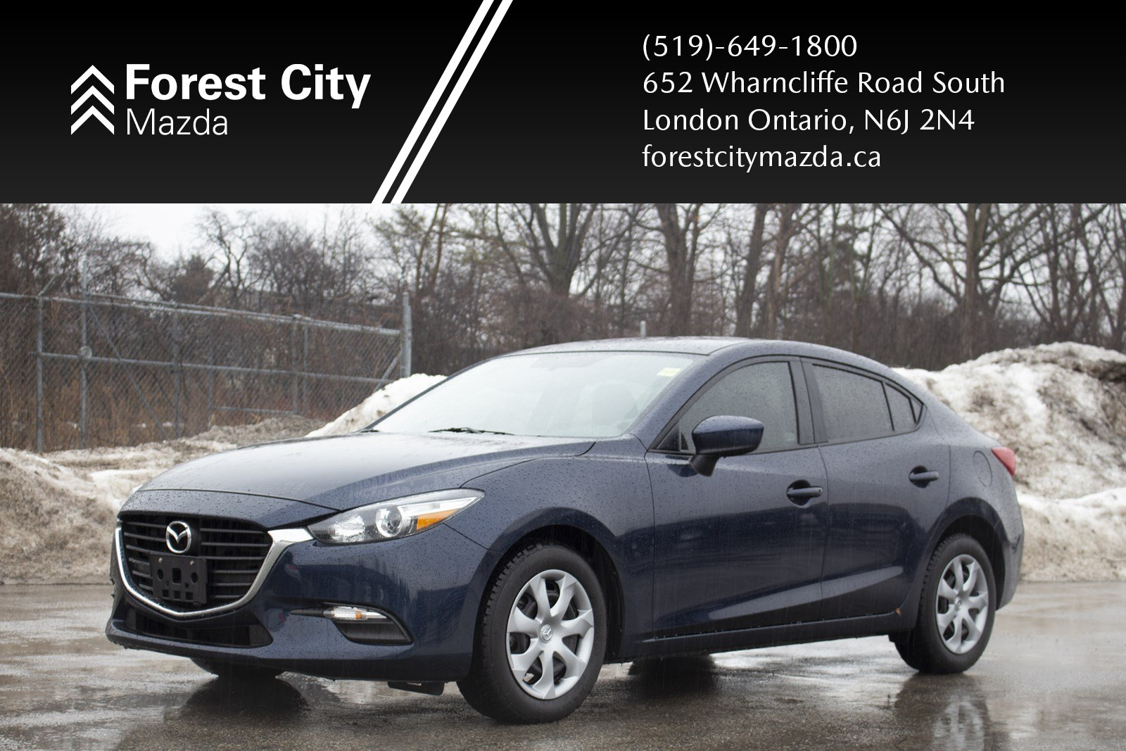 Pre-Owned 2018 Mazda3 GX,AUTOMATIC, LOW KILOMETERS