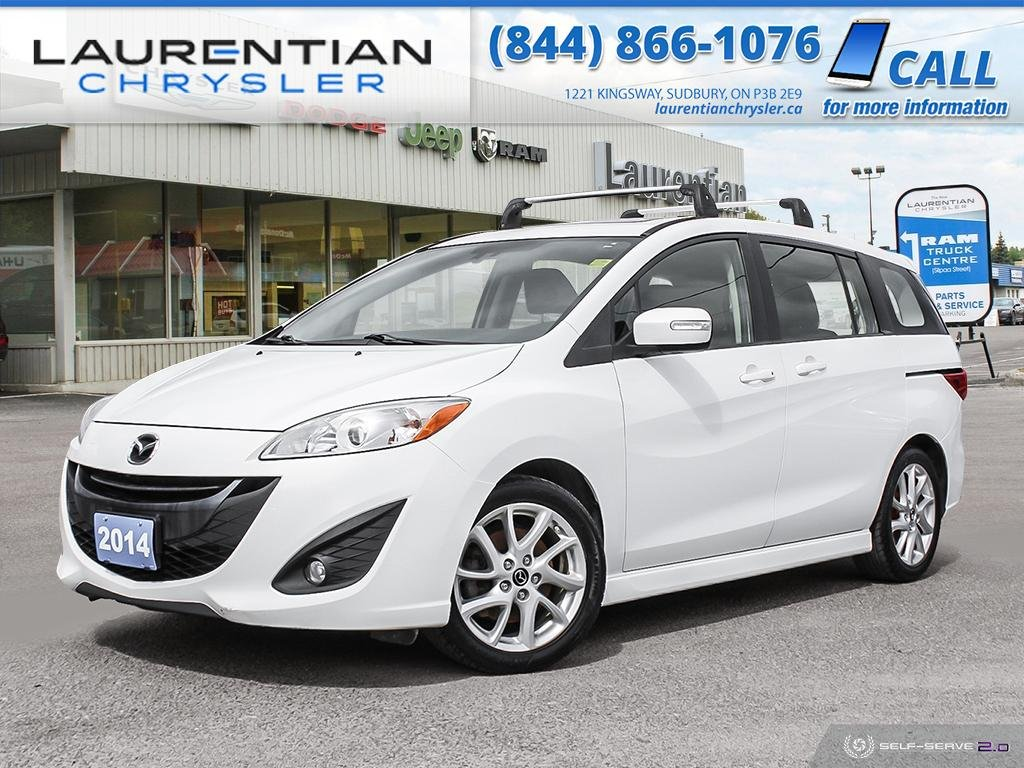 Pre-Owned 2014 Mazda5 GT - TRY THIS COMPACT AND SPORTY SUV TODAY !!