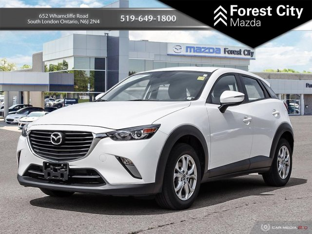 Pre-Owned 2016 Mazda CX-3 GS | Leather Interior | Sunroof | Back-up Cam | NAV