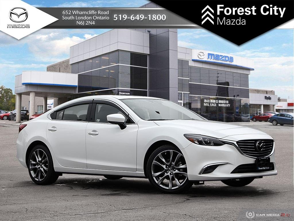 Pre Owned 2017 Mazda 6 Gt Leather Moonroof Premium Package