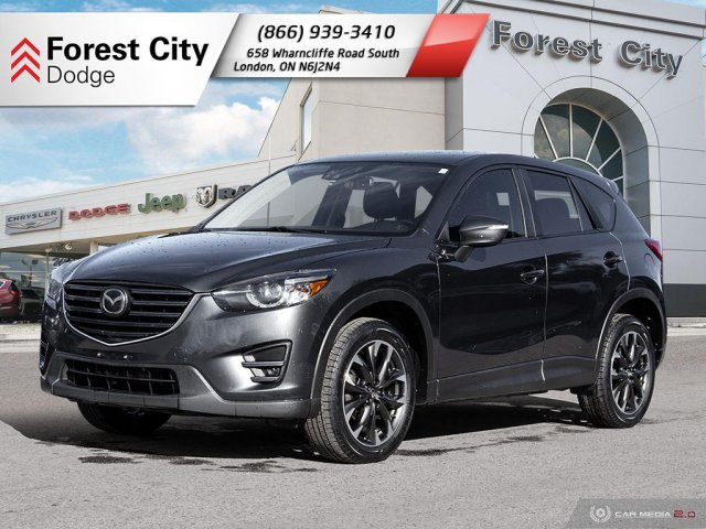 Pre-Owned 2016 Mazda CX-5 GT | Leather Interior | Moonroof | NAV | Back-up Cam