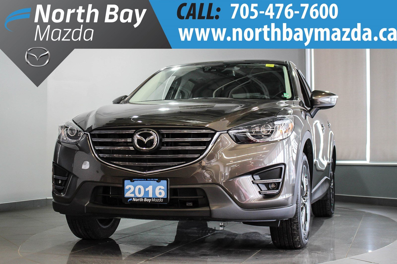 Pre Owned 2016 Mazda CX 5 GT AWD   LEATHER INTERIOR   NEW NON