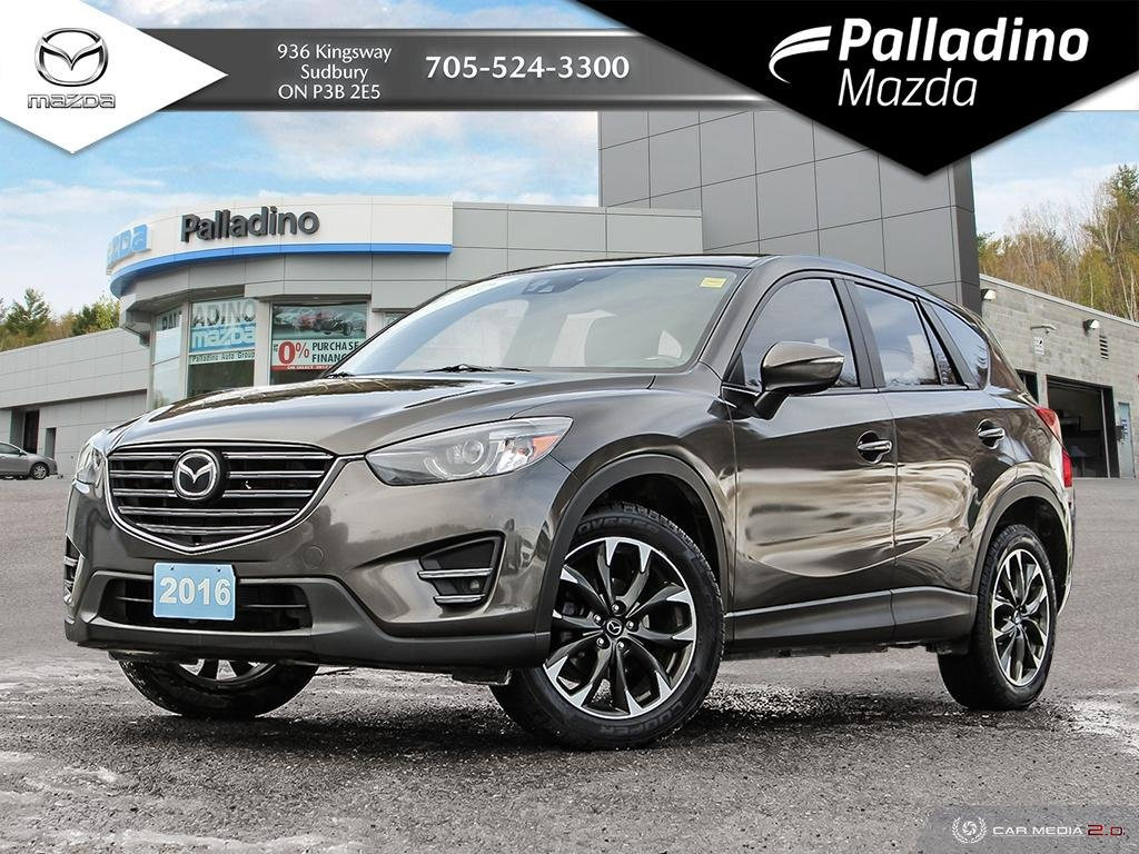 Pre-Owned 2016 Mazda CX-5 GT - ADAPTIVE CRUISE CONTROL - 2 SETS OF TIRES ON RIMS - CERTIFIED