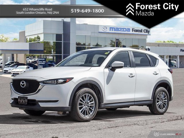 Pre-Owned 2017 Mazda CX-5 GX | Leather Interior | Back-up Cam