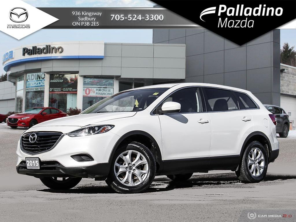Pre-Owned 2015 Mazda CX-9 GS - NEW BRAKES ALL AROUND - 7 SEATER