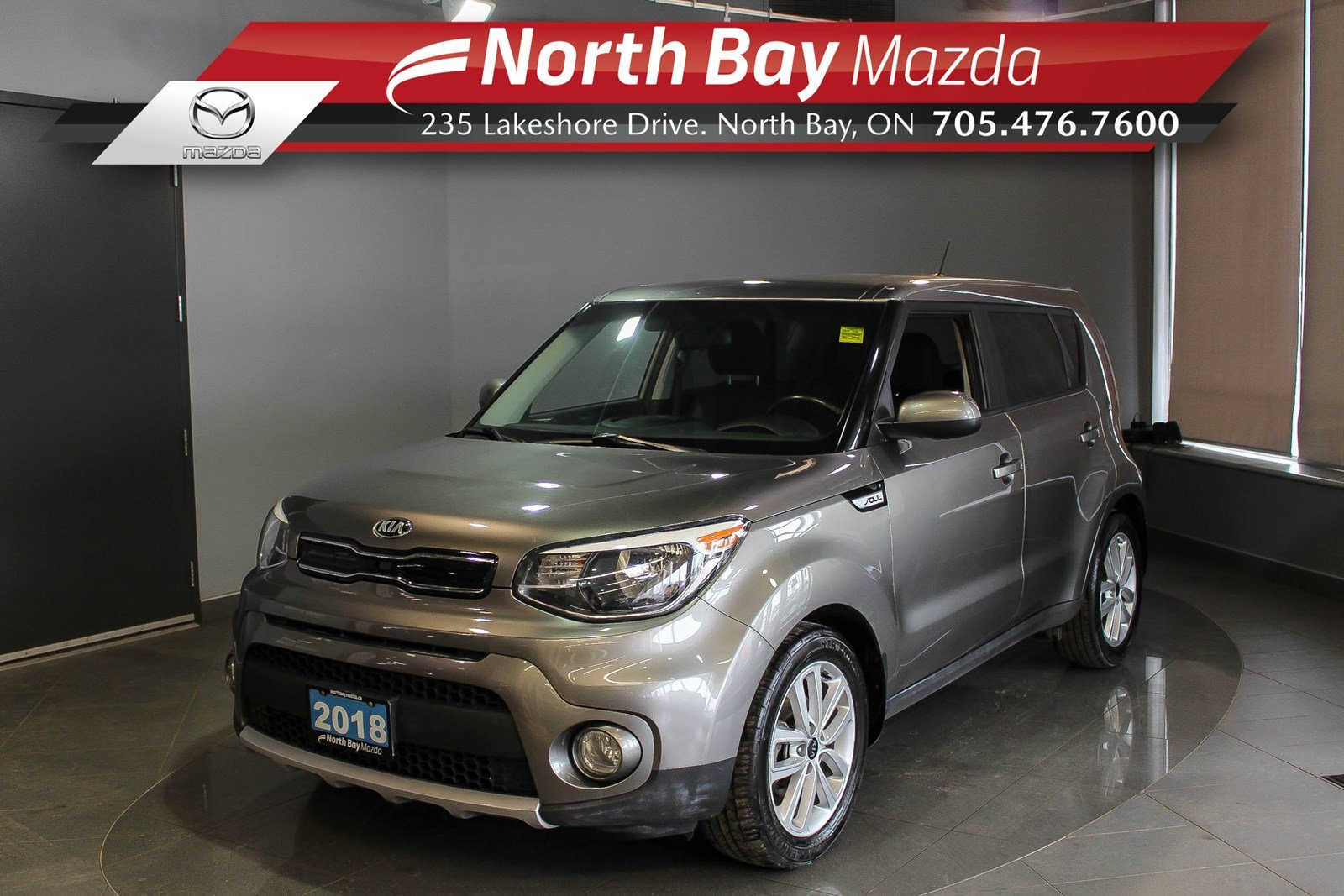 Pre-Owned 2018 Kia Soul EX with Heated Seats/Wheel and Clean CarFax!