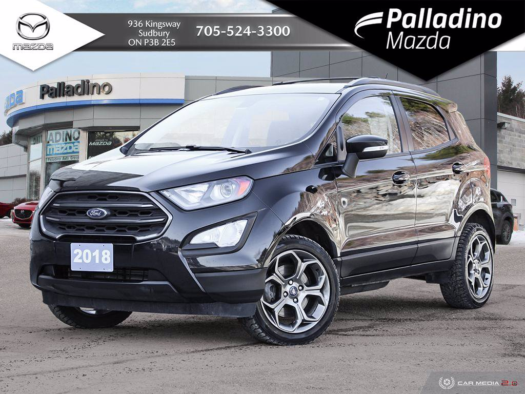 Pre-Owned 2018 Ford EcoSport SES - TWO SETS OF TIRES AND RIMS