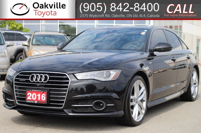 Pre-Owned 2016 Audi A6 3.0T Technik 3.0 Quattro AWD