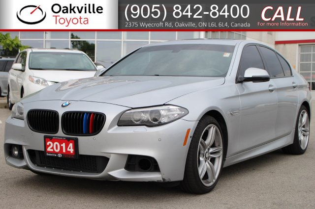 Pre-Owned 2014 BMW 5 Series 535i xDrive AWD with Clean Carfax | SELF CERTIFY