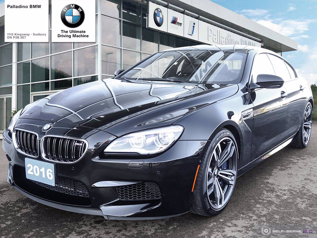Pre-Owned 2016 BMW M6 GRAN COUPE