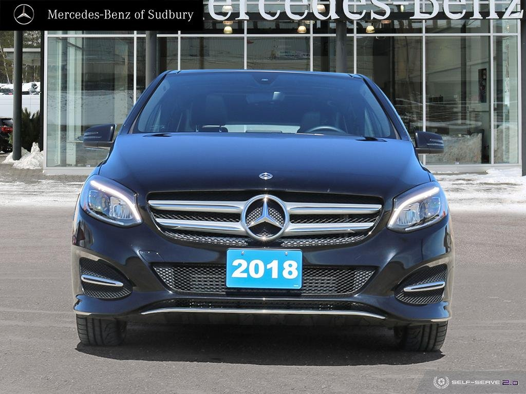 Certified Pre Owned 2018 Mercedes Benz B250 4matic