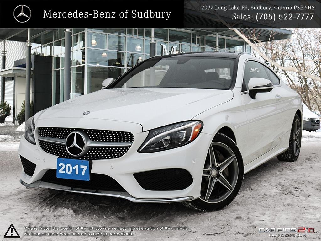Certified Pre Owned 2017 Mercedes Benz C Cl C300 4matic Coupe