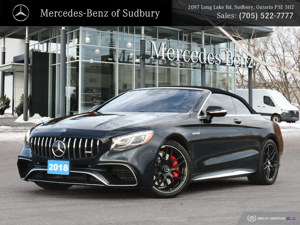 Pre-Owned 2018 Mercedes-Benz S-Class S 63 AMG 4MATIC