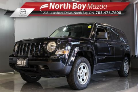 Pre-Owned 2017 Jeep Patriot Sport 4X4 Manual with Bluetooth, Backup Cam, Nav