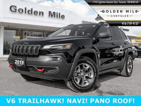 Certified Pre-Owned 2019 Jeep Cherokee Trailhawk Elite NAVIGATION