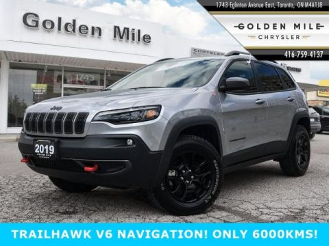 Certified Pre-Owned 2019 Jeep Cherokee Trailhawk Leather V6 NAVIGATION
