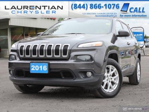 Pre-Owned 2016 Jeep Cherokee North - CARVE YOUR OWN PATH WITH JEEP !!