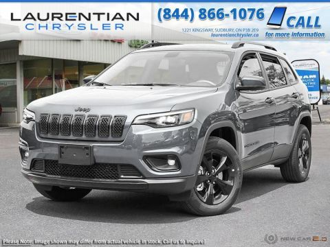 Pre-Owned 2019 Jeep Cherokee Altitude - 4X4, NAVIGATION!! HEATED SEATS!! Four Wheel Drive Sport Utility