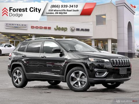 Pre-Owned 2019 Jeep Cherokee Limited - DEMO | LEATHER INTERIOR | MOONROOF | BACK-UP CAM | NAV