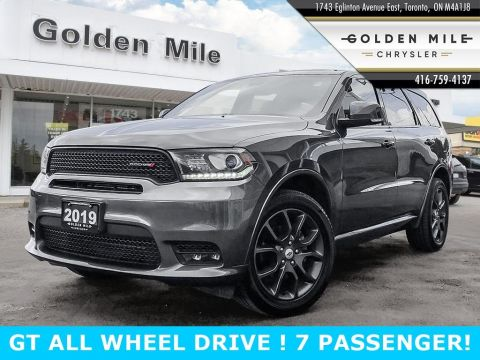 Certified Pre-Owned 2019 Dodge Durango GT AWD 7 PASSENGER