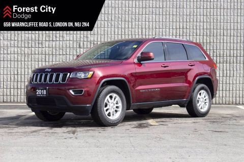 Pre-Owned 2018 Jeep Grand Cherokee LAREDO | PREVIOUS DAILY RENTAL | KEYLESS ENTRY | REAR VIEW CAM | UCONNECT 4WD