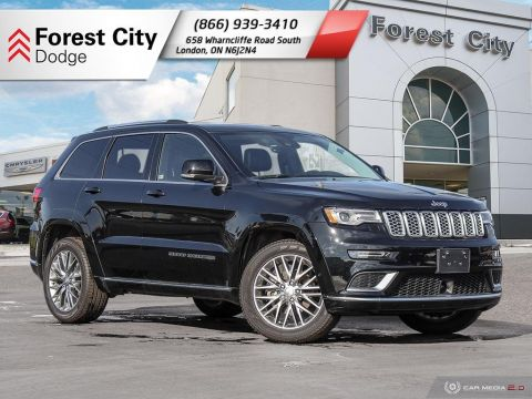Pre-Owned 2018 Jeep Grand Cherokee Summit - DEMO