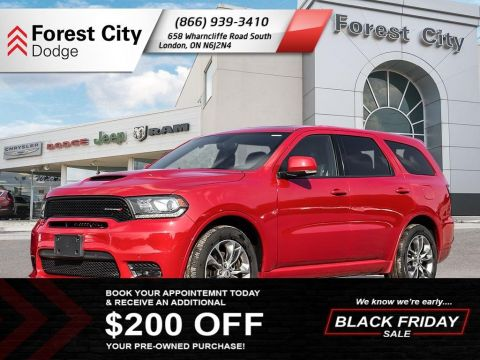 Pre-Owned 2019 Dodge Durango R/T | Leather Interior | Back-up Cam | NAV | Moonroof