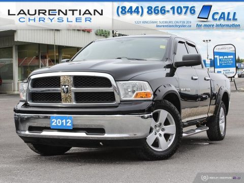 Pre-Owned 2012 Ram 1500 SLT - TOW PACKAGE, SELF CERTIFY!!!
