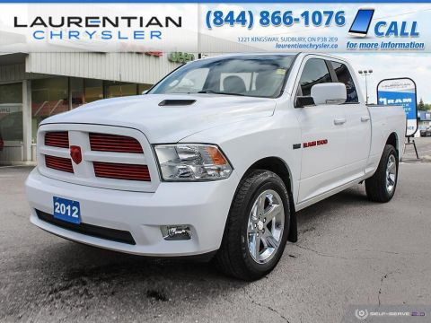 Pre-Owned 2012 Ram 1500 Sport - SELF CERTIFY !!