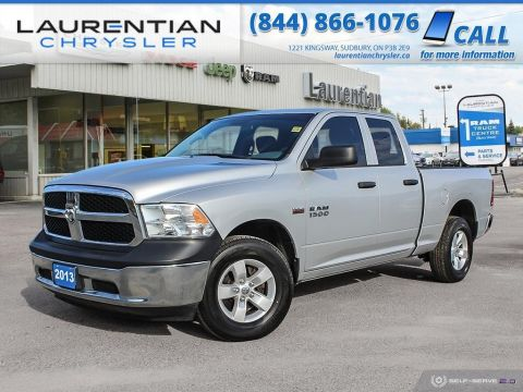 Pre-Owned 2013 Ram 1500 ST - DRIVE RAM CAPABILITY AND HEMI POWER !