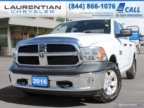 Pre-Owned 2016 Ram 1500 ST - RAM POWER AND CONFIDENCE!