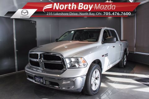 Pre-Owned 2018 Dodge RAM 1500 SLT - Test Drive Available by Appt! 4WD