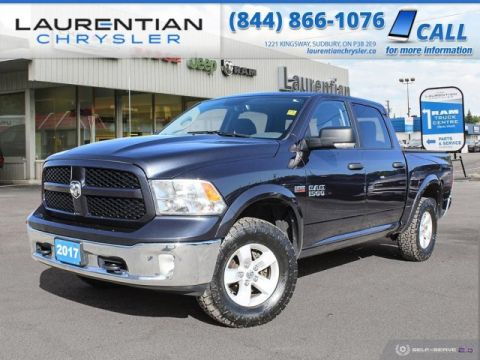 Pre-Owned 2017 Ram 1500 Outdoorsman - TRY RAM POWER AND CAPABILITY !