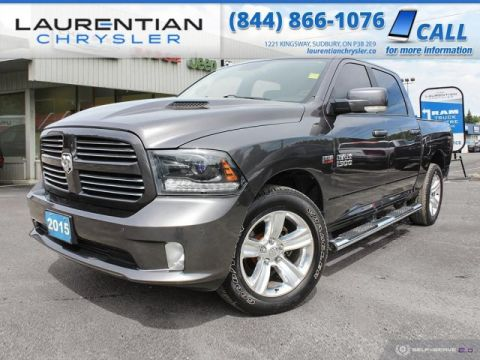 Pre-Owned 2015 Ram 1500 Sport - RAM POWER AND SPORT RIDE!!