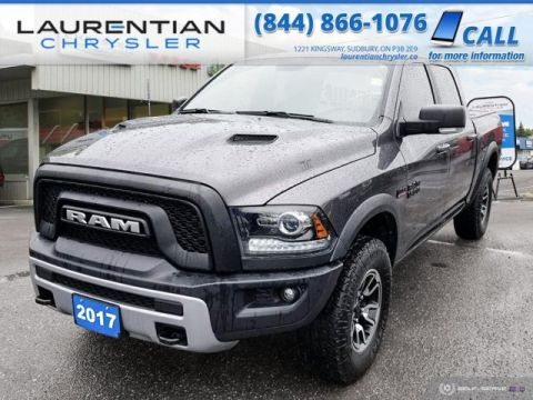 Pre-Owned 2017 Ram 1500 Rebel - STAND OUT FROM THE CROWD WITH THE REBEL