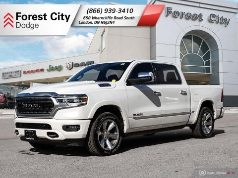 Pre-Owned 2019 Ram 1500 Limited | Moonroof | Leather Interior | NAV