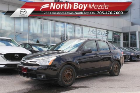 Pre-Owned 2009 Ford Focus SES Self Certify with Leather, Cruise, A/C