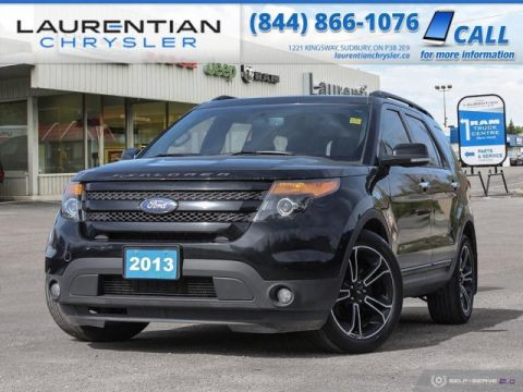 Pre-Owned 2013 Ford Explorer Sport - AWD CAPABILITY WITH LEATHER LUXURY !!