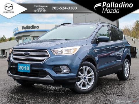 Pre-Owned 2018 Ford Escape SE - CLEAN CARFAX - NEW WINTER TIRES
