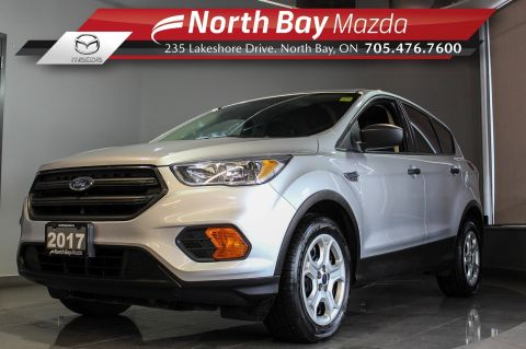 Pre-Owned 2017 Ford Escape S FWD with Bluetooth, Cruise, Backup Camera