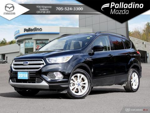 Pre-Owned 2018 Ford Escape SE - ONLY 6600 KMS!!! - LIKE NEW 4WD