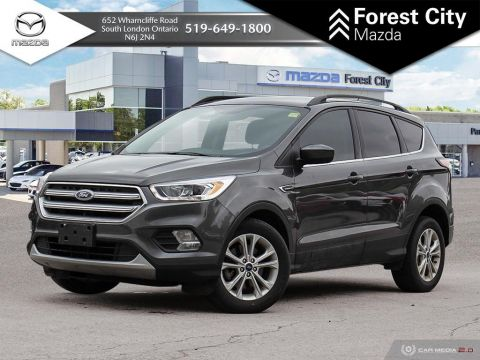Pre-Owned 2017 Ford Escape SE | HEATED FRONT SEATS | BACK-UP CAM | CRUISE