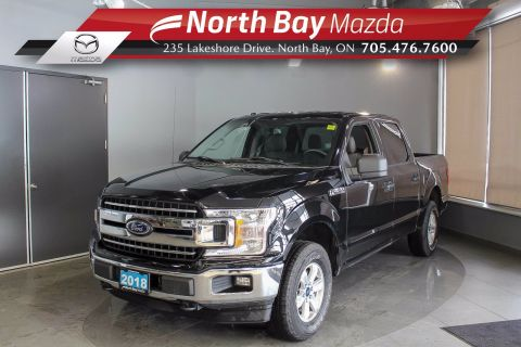 Pre-Owned 2018 Ford F-150 XLT 4X4 Crew Cab with Bedliner, Bluetooth, Cruise Control