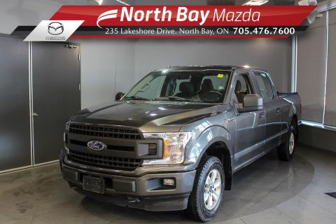 Pre-Owned 2018 Ford F-150 XL Super Crew V8 with Bluetooth, Cruise, Bedliner
