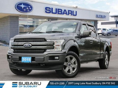 Pre-Owned 2018 Ford F150 Lariat - !**FREE WINTER TIRES**!