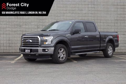 Pre-Owned 2016 Ford F-150 4X4 FULL CREW CAB,BACK UP CAMERA