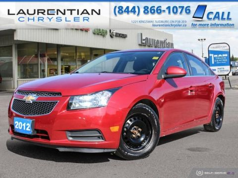 Pre-Owned 2012 Chevrolet Cruze LT - SELF CERTIFY !!