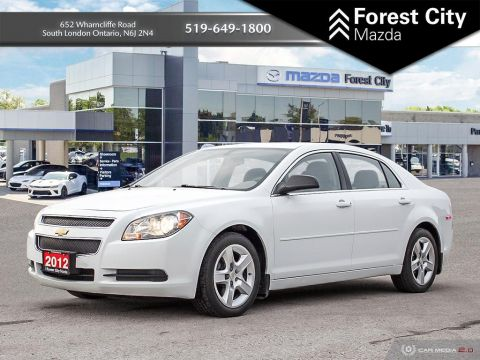 Pre-Owned 2012 Chevrolet Malibu LS,LOW KM, POWER OPTIONS, NICE CLEAN INEXPENSIVE RIDE FWD 4dr Car